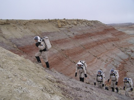 MDRS: Climbing suits (intro)