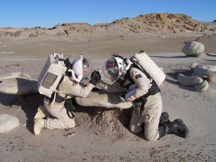 MDRS: Arm wrestling
